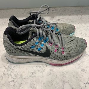 Nike Zoom Structure 19, Gray Size 8